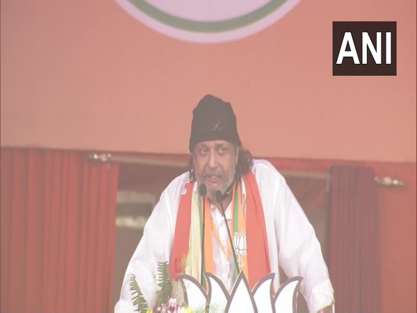 BJP leader Mithun Chakraborty (Photo/ANI)