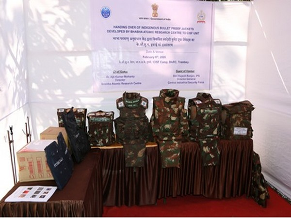'Bhabha Kavach' bulletproof jackets developed by Bhabha Atomic Research Centre will be used by the Central Industrial Security Force. (Photo courtesy: PIB)