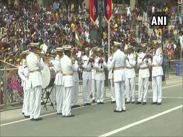 Independence Day celebrated at Attari-Wagah border