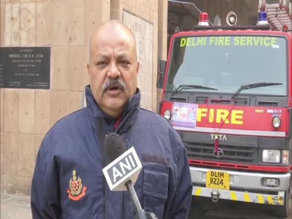 Atul Garg, Director, Delhi Fire Services (Photo/ANI)