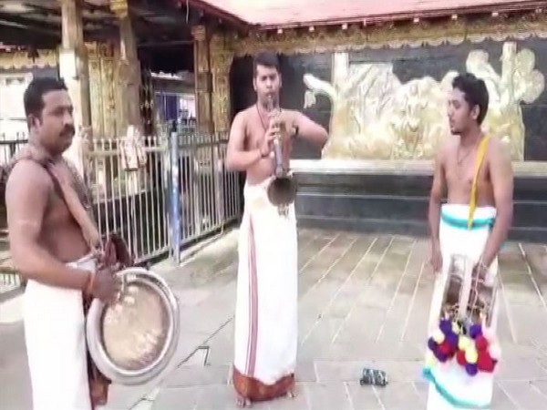 The special 'Usha Puja' at the Sabarimala Temple