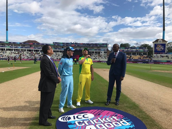 Australia won the toss and chose to bat first against England. (Photo/ Cricket Australia Twitter)