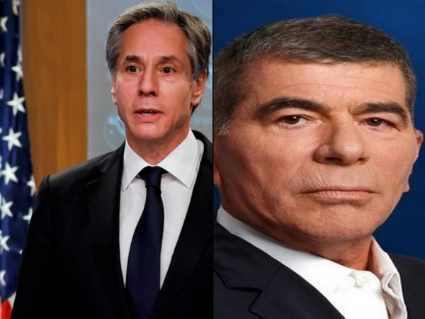 US Secretary of State Antony Blinken and Israel's Foreign Minister Gabi Ashkenazi