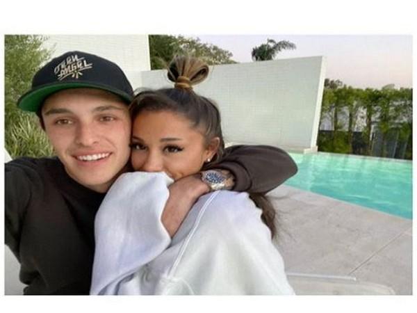 Ariana Grande, Dalton Gomez (Image courtesy: Instagram)