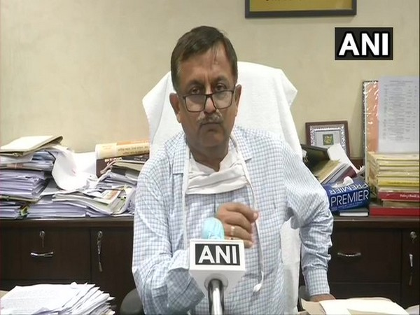 Uttar Pradesh Additional Chief Secretary (Home) Awanish Awasthi speaking to media on Friday.