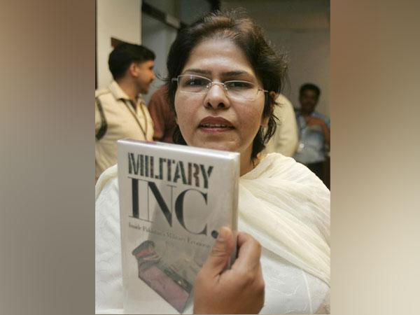 Pakistani scholar, author and expert on military affairs Ayesha Siddiqa