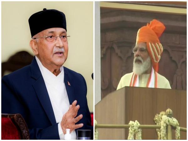 Nepal PM KP Sharma Oli and Prime Minister Narendra Modi