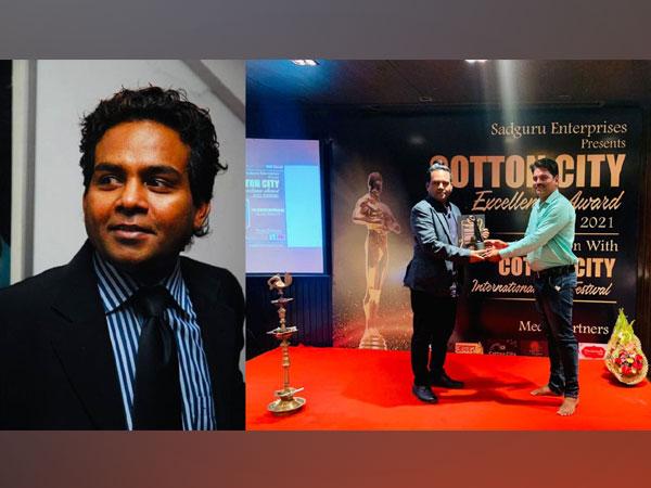 Girish Wankhede bags Cotton City Excellence Kala Gaurav Award