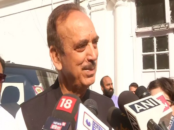 Leader of opposition in Rajya Sabha and veteran Congress politician, Ghulam Nabi Azad in New Delhi (Photo ANI)