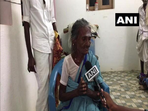 79-year-old, Veerammal Azhagappan talking to ANI in Madurai on Thursday