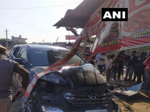 A visual from the site of incident in Rajasthan on Wednesday.