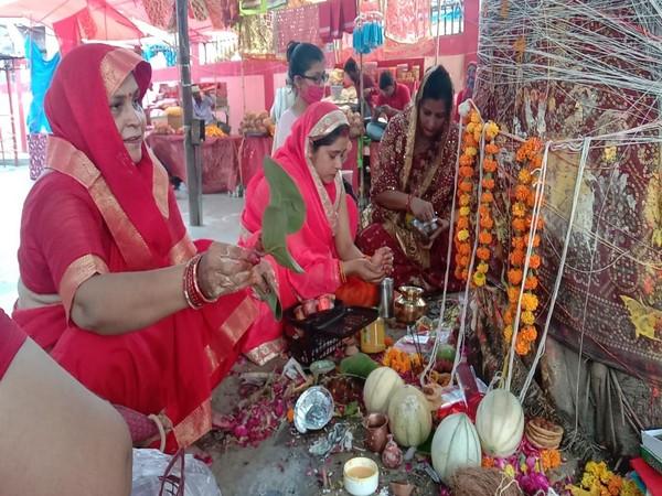 Visuals from Prayagraj (Photo/ANI)