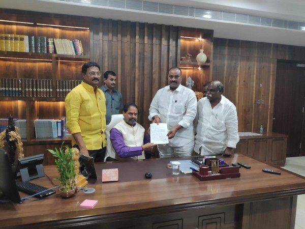 TDP delegation submitting representation (Photo/ANI)