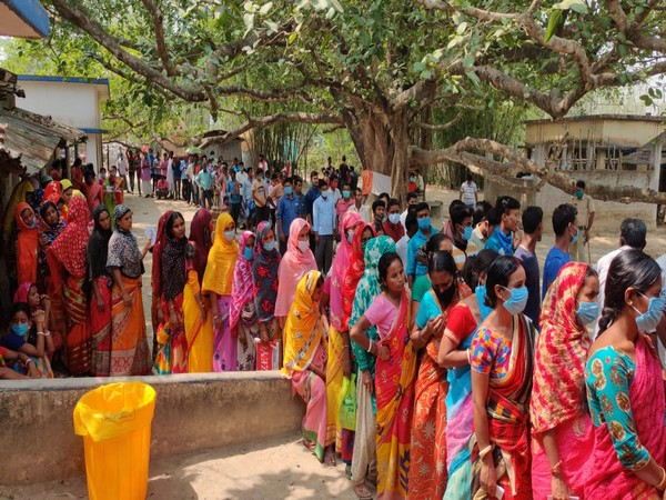 Polling underway in West Bengal for the seventh phase.