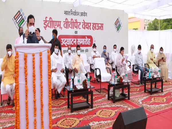 Madhya Pradesh Home Minister Narottam Mishra in Indore (Photo/ANI)
