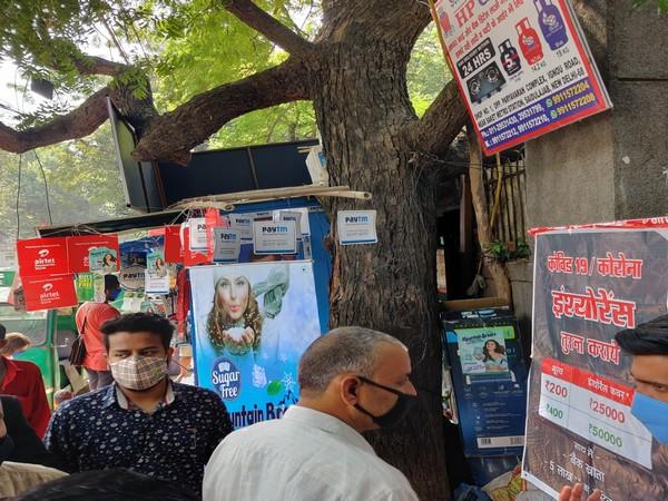 'Baba ka Dhaba' turns into hotspot for companies' promotion and advertisement. Photo/ANI