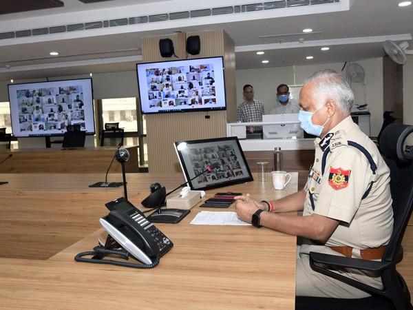 Delhi Police Commissioner SN Shrivastava (Photo/ANI)