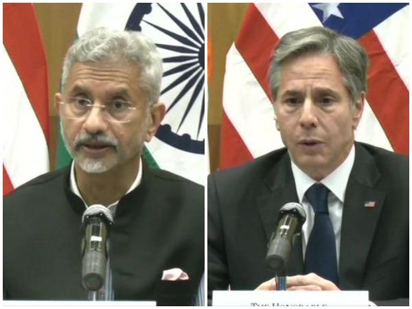 External Affaris Minister S Jaishankar and US Secretary of State Antony Blinken