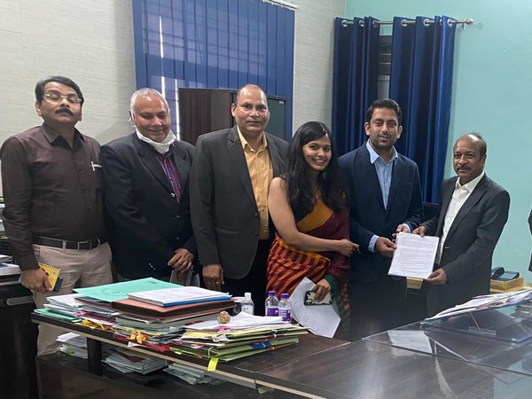 Visual of officials of Department of Women Empowerment and Child Development; Meraki Foundation signing MoU (Photo/ANI)