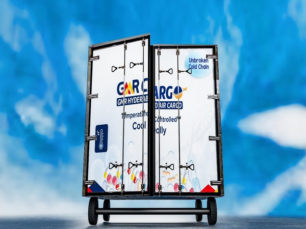 GMR Hyderabad Air Cargo has launched multi ULD cool dolly for an unbroken cold chain