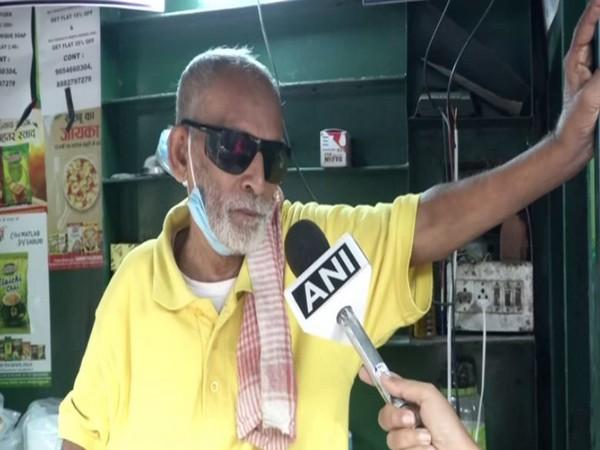 Kanta Prasad speaks with ANI in New Delhi. (Photo/ANI)