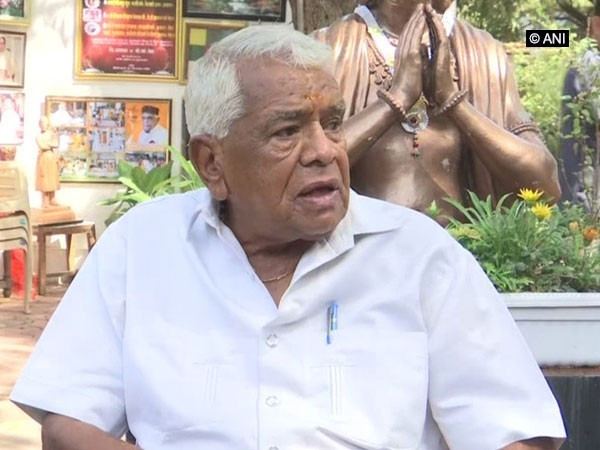 Madhya Pradesh former Chief Minister and BJP leader Babulal Gaur