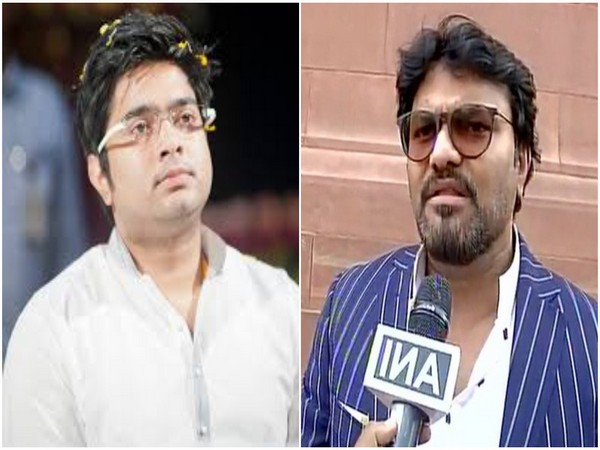 TMC MP Abhishek Banerjee and BJP MP Babul Supriyo
