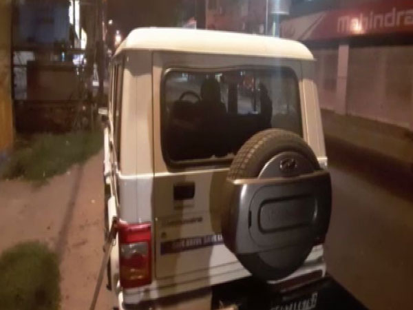 Union Minister Babul Supriyo's security personnel's vehicles were attacked in West Bengal on Sunday. Photo/ANI