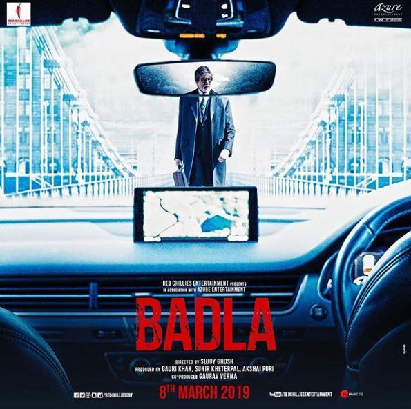 'Badla' poster, Image courtesy: Instagram