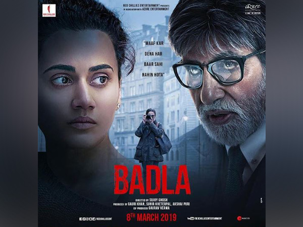 'Badla' poster, Image courtesy: Instagram