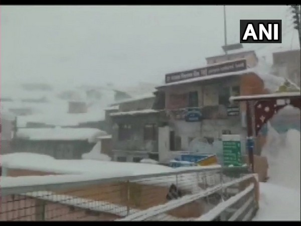 Visual from Badrinath Photo/ANI