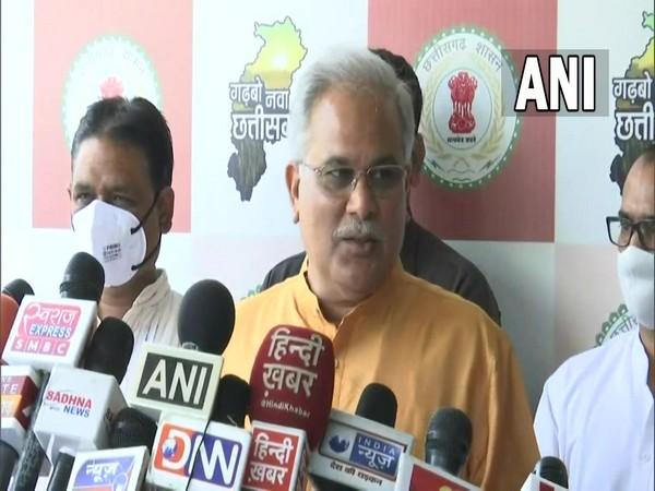 Chhattisgarh Chief Minister Bhupesh Baghel. (Photo/ ANI)