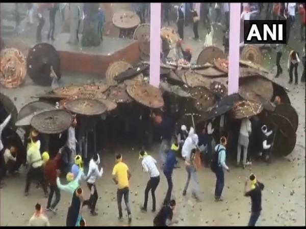 Stone-pelting festival held in Deidhura temple in Champawat district of Uttarakhand