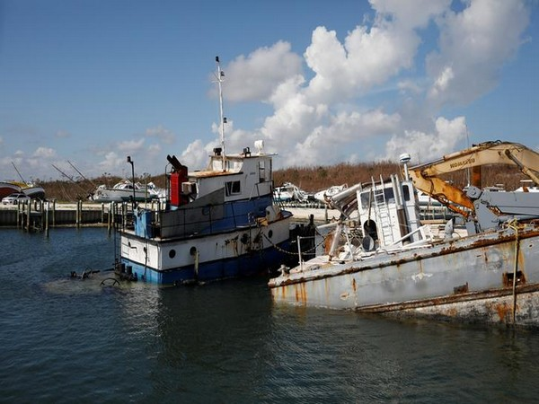 Destruction caused by Hurricane Dorian in the Bahamas