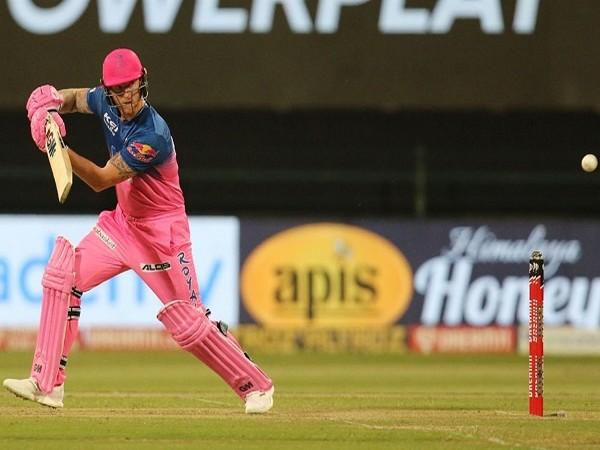 Rajasthan Royals all-rounder Ben Stokes. (Image: BCCI/IPL)