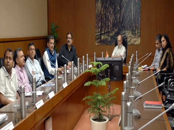 Visual from the meeting in New Delhi