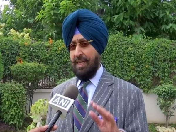Congress leader Partap Singh Bajwa talking to ANI in Chandigarh on Wednesday. (Photo/ANI)