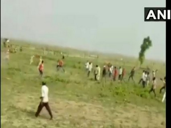 A visual from the incident site in Ballia. (Photo/ANI)