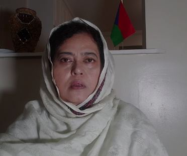 Naela Quadri, President of the World Baloch Women's Forum