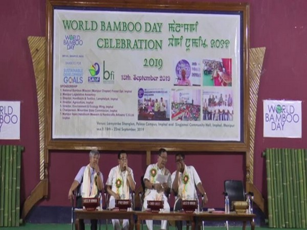 World Bamboo Day celebrations in Imphal (Photo/ANI)