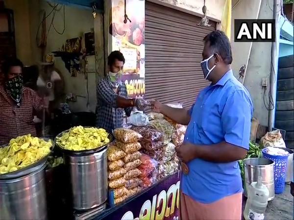 Visual of a banana chips shop in Kerala. (Photo/ANI)