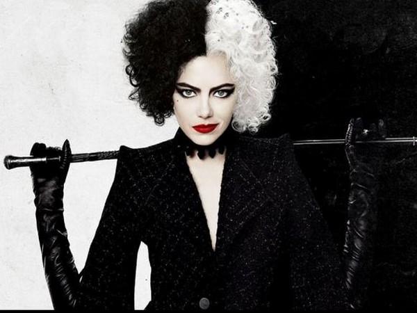 Emma Stone as 'Cruella' (Image Source: Instagram)