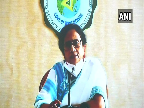 West Bengal Chief Minister Mamata Banerjee. [Photo/ANI]