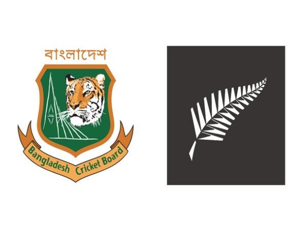 Logo of Bangladesh Cricket Board (L) and New Zealand Cricket (R)