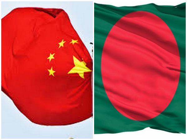 Flags of China and Bangladesh. (Representative Image)