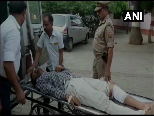 Main accused Pappu Jaiswal has been taken to the hospital due to injuries after an encounter with the police. Photo: ANI