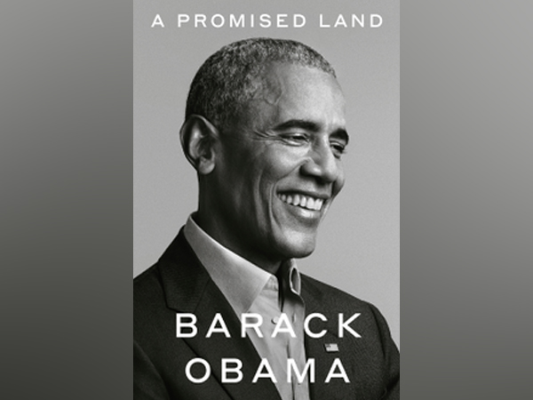Cover page of the first volume of Barack Obama's upcoming book -- A Promised Land