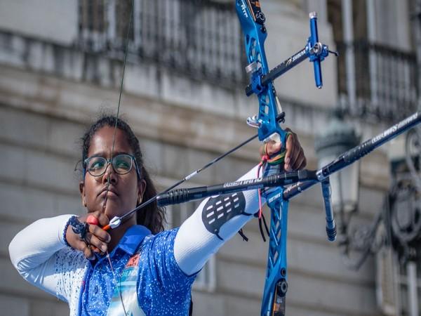 Indian archer Komalika Bari (Photo/World Archery Twitter)