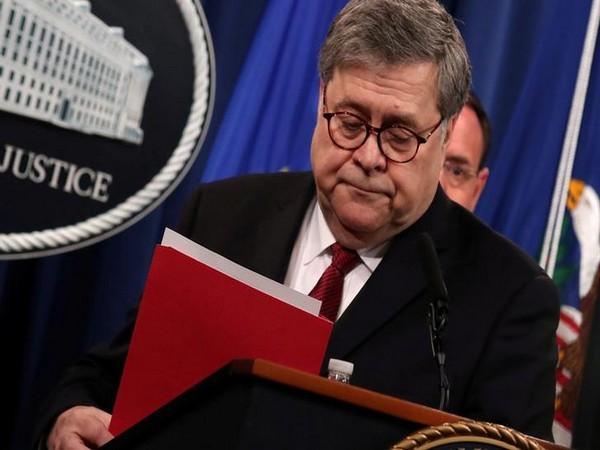 Attorney General William Barr (Photo/ Reuters)