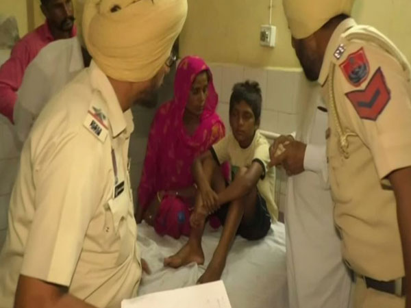 The boy was allegedly thrashed by a priest when he went to offer prayers at a Gurudwara in Bathinda on Friday. Photo/ANI